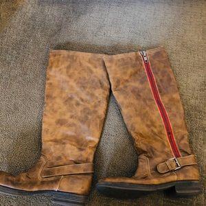 Madden girl high boots. Size 8.5